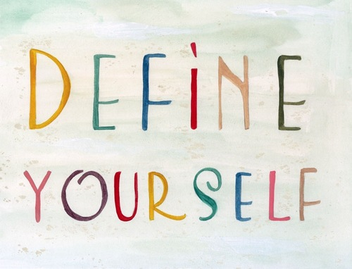 define yourself